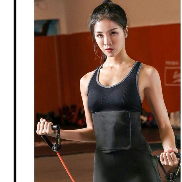 Sport Sweat Belt Waist Shaper Corsets Waist Trainer Cincher Control Slimming Under bust Corset Shapewear Body Tummy Corset Wrap 1