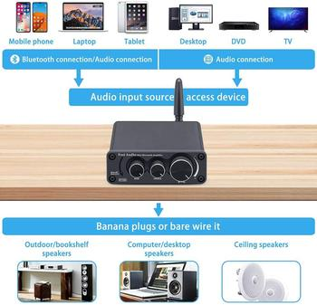 Fosi Audio Bluetooth 2 Channel Sound Power Stereo Amplifier  5