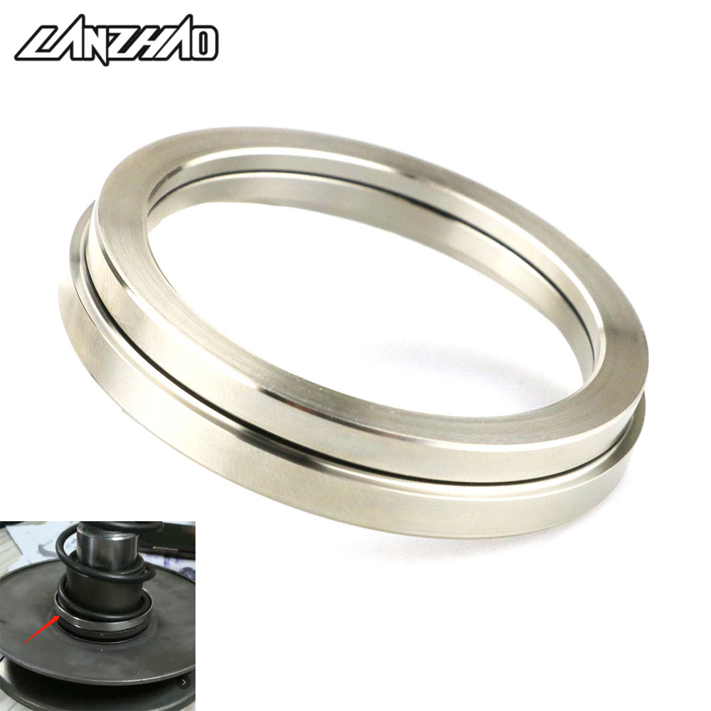 LANZHAO Motorcycle Stainess Steel Clutch Assembly Platen Torque Plate Ring for Piaggio Vespa Sprint Primavera 150 2017 2018 2019