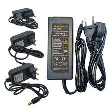 Светодиодный адаптер питания 12 в 1 А 2 3 5 6 7 а 8 10 Универсальный