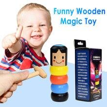 Новые Волшебные трюки Дарума не выливаются игрушки неваляшка послушные игрушки для детей волшебные трюки для профессиональных волшебных игрушек Волшебники