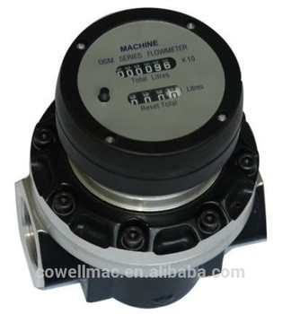 цена на 1.5 40mm mechanical HFO oval gear flow meter/OGM flowmeter