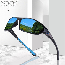 XojoX Luxury Polarised Driving Sunglasses Men Women Vintage