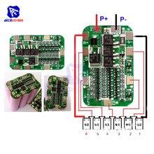 Diymore 6 s 15A 24 12v pcb bms 保護基板 6 パック 18650 リチウムイオンリチウム電池携帯モジュール