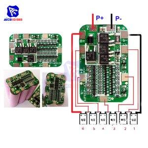 Image 1 - Diymore 6S 15A 24V Pcb Bms Bescherming Boord Voor 6 Pack 18650 Li Ion Lithium Batterij Mobiele Module