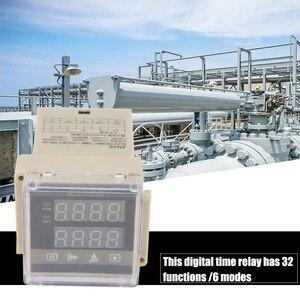 Image 5 - HFES ZN48 AC220V цифровой счетчик реле времени Многофункциональный вращающийся измеритель скорости