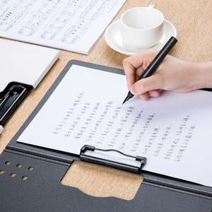 Image 5 - Yeni Youpin Fizz yatay A4 klasörü mat doku taşınabilir ped taşınabilir kalem tepsisi kalınlaşmak evrak çantası okul ofis malzemeleri