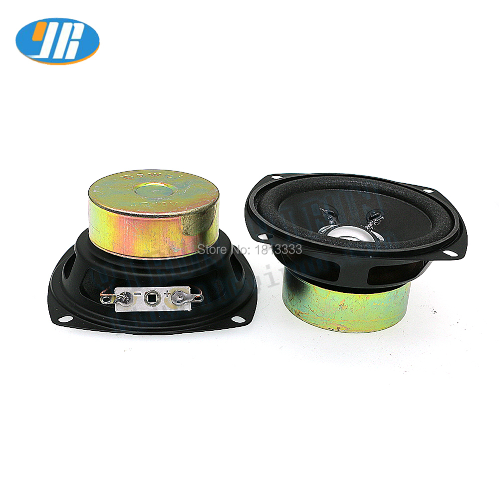 2PCS 3 inch 10ohm 4W Speaker For Arcade gaem machine parts Casino Game Accessories
