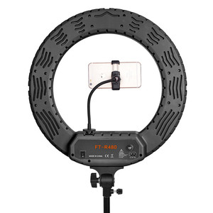 Image 4 - FOSOTO 18 Inch Led Ring light Photographic Lighting Ringlight Ring Lamp Video Light With Tripod For Phone Camera Makeup Youtube