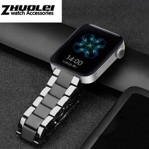 Image 3 - Seramik watchband için GT2 GT kayış glory sihirli rüya metal seramik akıllı spor saat watch2 Pro bilezik 42/ 46m
