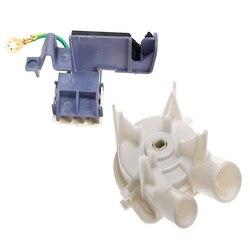 Pokrowiec na pralkę przełącznik 8559331 pompa spustowa spryskiwacza z 8318084 przełącznik pokrywy spryskiwacza 3 Pin Roper podkładka do Whirlpool Kenmore 3 w Części do pralek od AGD na