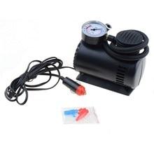 цена на DJSona Black Mini 12V 300PSI Car Air Pump Tyre Compressor Portable Electric Car Air Pump Bike Type Air Inflator P25 Hot Sale