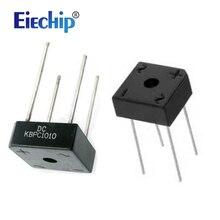 5 Pz/lotto KBPC1010 Trasporto libero 10A 1000V diodo raddrizzatore a ponte kbpc1010