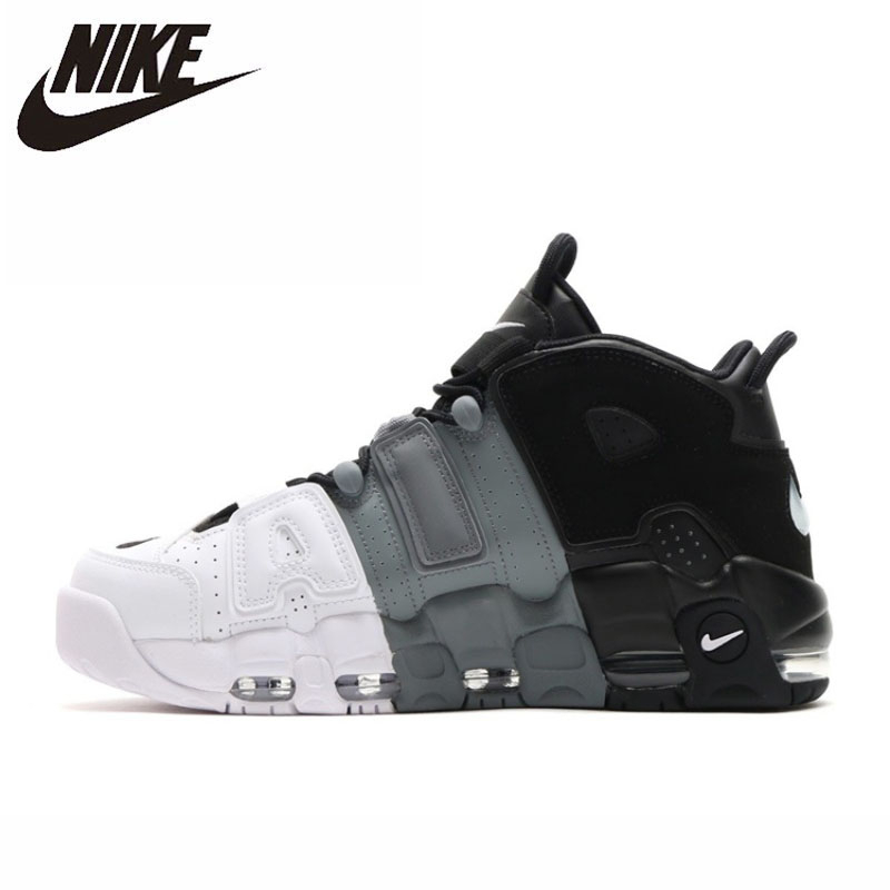 NIKE AIR UPTEMPO Original New Arrival Men Basketball Shoes Comfortable Sports Sneakers #921948 002|Basketball Shoes| |  - title=