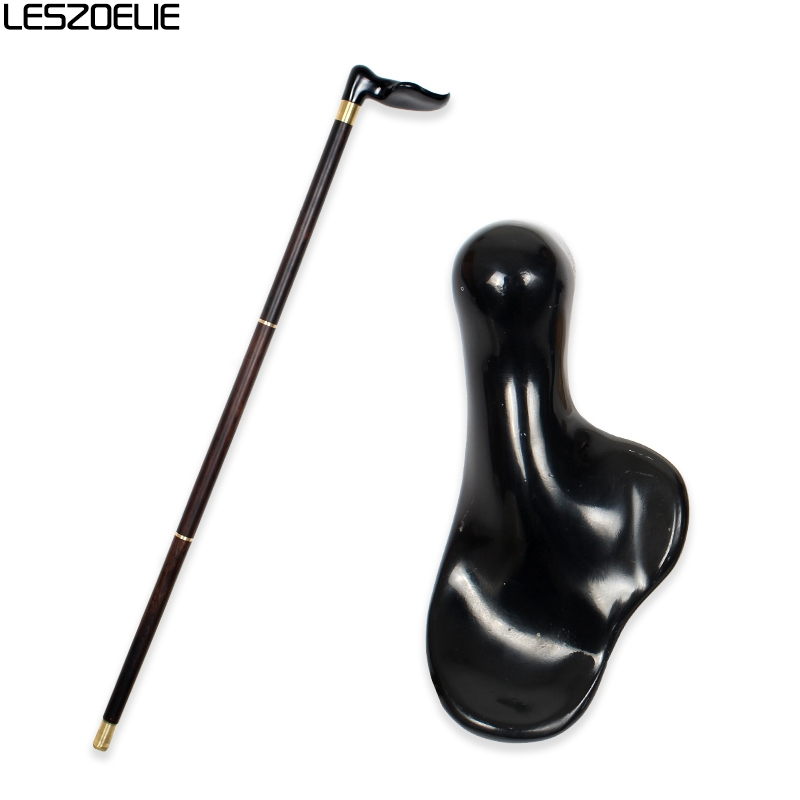 Luxury Wooden Canes Resin Handle Walking Stick Man Decorative Cane Women Fashion Elegant Walking Stick Vintage Walking Canes