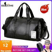 Gym Bag Leather Sports Bags Big Men Training Tas for Shoes Lady Fitness Yoga Tra