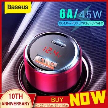 Baseus 4.0 USB-C Car Charger