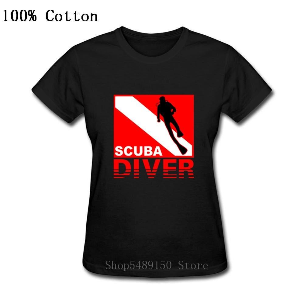 Cadeaux d'anniversaire drôles présents plongée en apnée Oxyge femmes T-Shirt Hipster manches courtes masque de plongée T-Shirt plongée plongée dame t-shirts