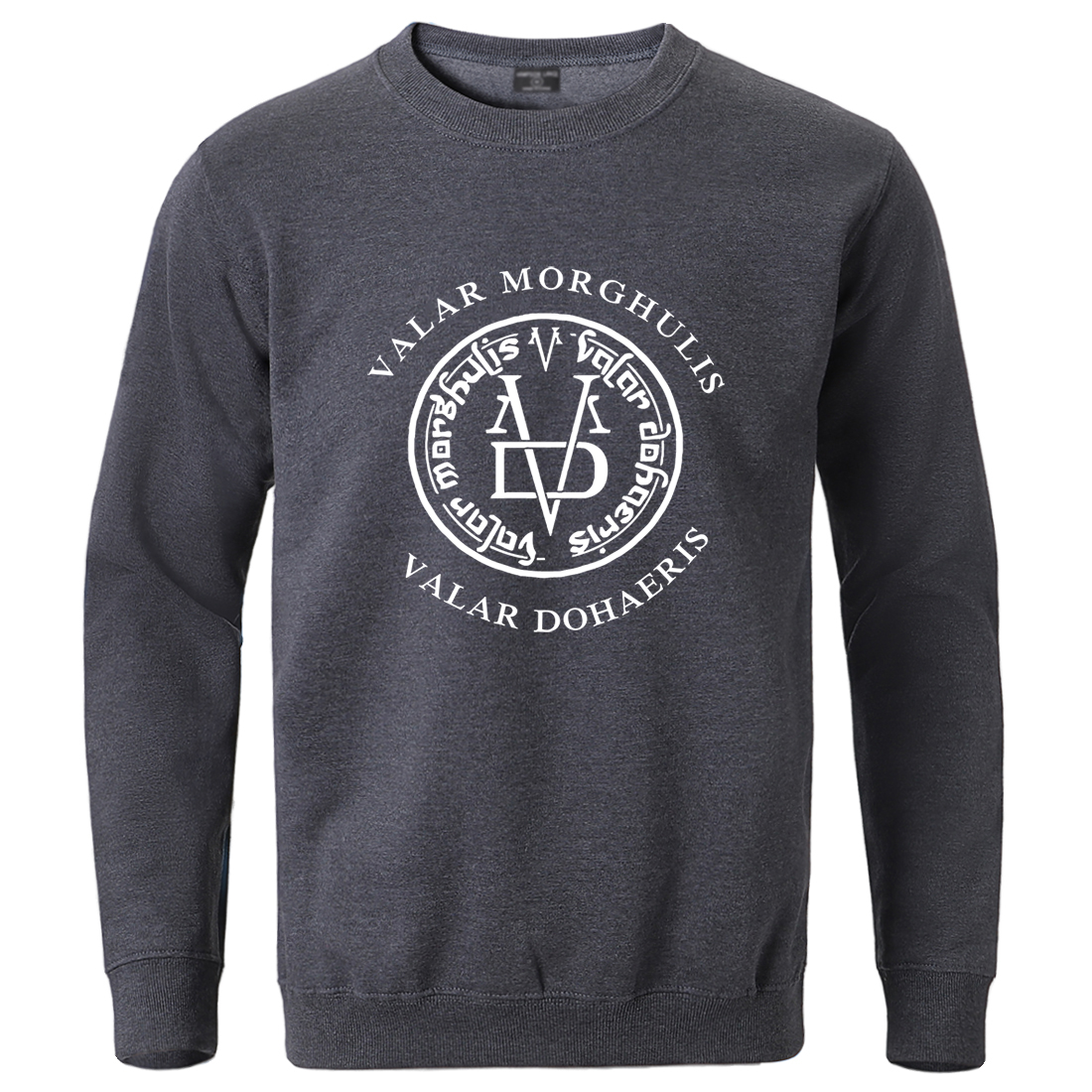 Game Of Thrones Winter Sweatshirt For Man 2020 Male Valar Morghulis Valar Dohaeris Hoodie Streetwear Fashion Cotton Crewneck Top