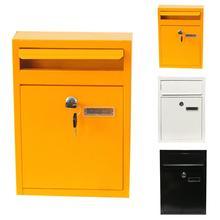 Почтовый ящик наружный настенный замок безопасности почтовый ящик письмо коробка для дома сад письмо газета, журнал почтовый ящик