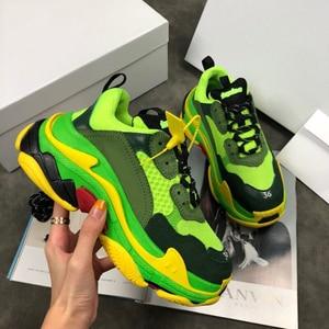 Image 5 - Chaussures de course pour hommes et femmes, chaussures de sport respirantes, athlétiques de marque à la mode, unisexes, couleurs mélangées, collection espadrilles décontractées