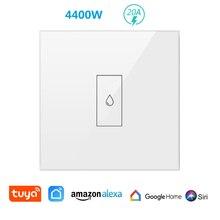 Smart Life WiFi chaudière chauffe eau commutateur 4400W App à distance sur OFF minuterie calendrier commande vocale par Google Home Alexa Siri