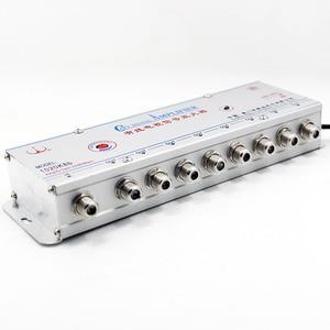 Image 2 - AC 220V 8 way 20db CATV VCR เครื่องขยายสัญญาณเสาอากาศ Booster Splitter 1 ใน 8 OUT 45MHz ~ 1000MHz