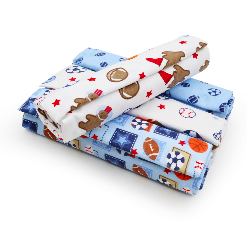 4Pcs/Lot Baby Blanket Muslin Diaper 100% Cotton Newborn Swaddle Blankets Baby Kids Boy Girl Soft Swaddles Wrap Photography Props