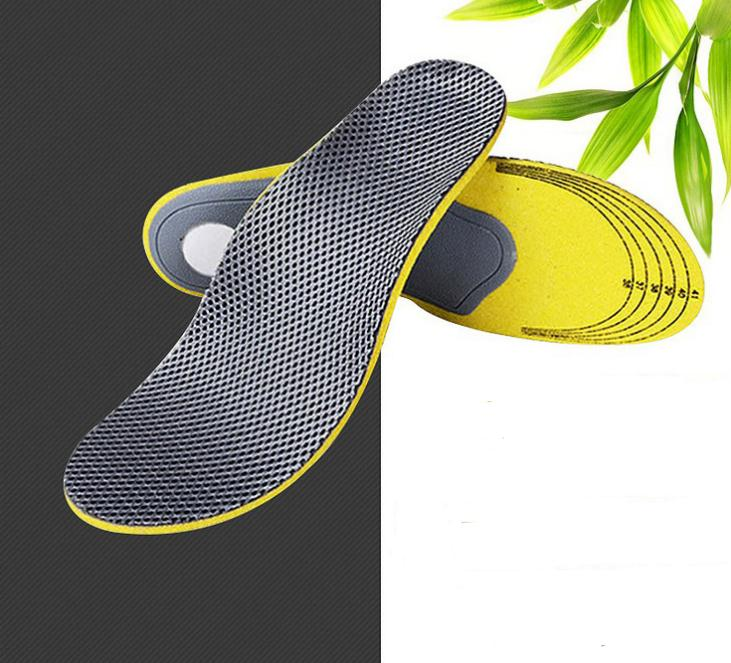 by dhl 100pairs Can Cut Men and Women General Bamboo Charcoal Absorbent Breathable Deodorant Sports Shoes Pad Insoles SN303