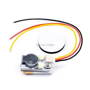 100db jhe20b 2 led finder super alto buzzer tracker sobre built-in bateria para o controlador de vôo rc zangão modelos peças de reposição accs