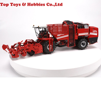 1:32 Model Toy 1/32 Alloy Harvester Reaper HOLMER TERRA DOS T4 Red Diecast Farm Vehicle Toy Diecast Cars Toys for Boys Kids
