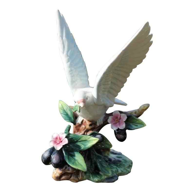 Hand Painted Ceramic Angel Pigeon Spanish Elegant Porcelain Figure Ornaments Office Decorations Birthday Gifts Figurines Miniatures Aliexpress