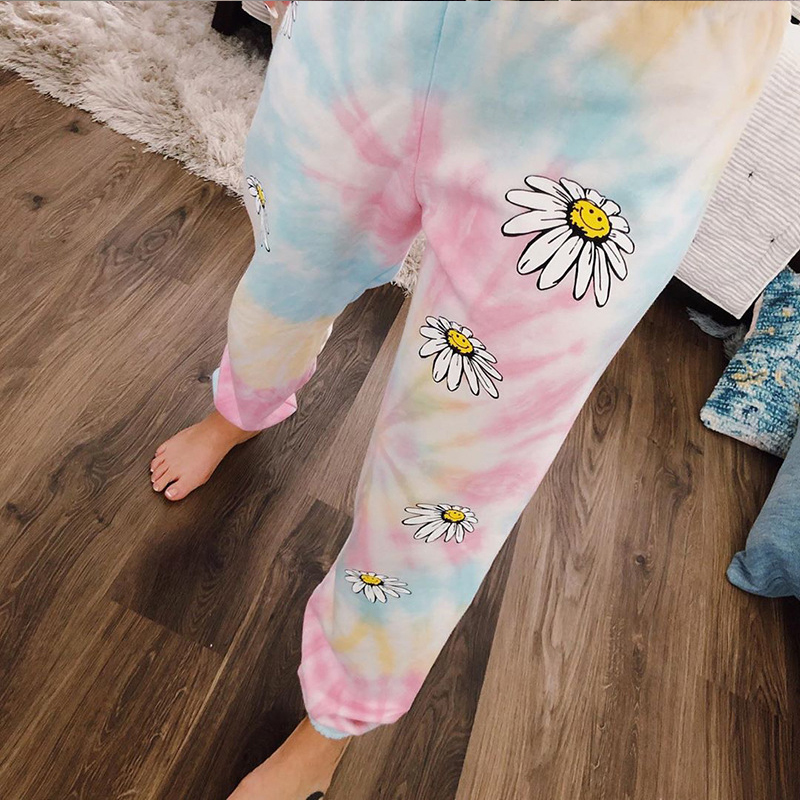 Sweetown-Tie-Dye-Floral-Print-Baggy-Women-Jogger-Sweatpants-Casual-Loose-High-Waist-Trousers-Female-Hip (2)