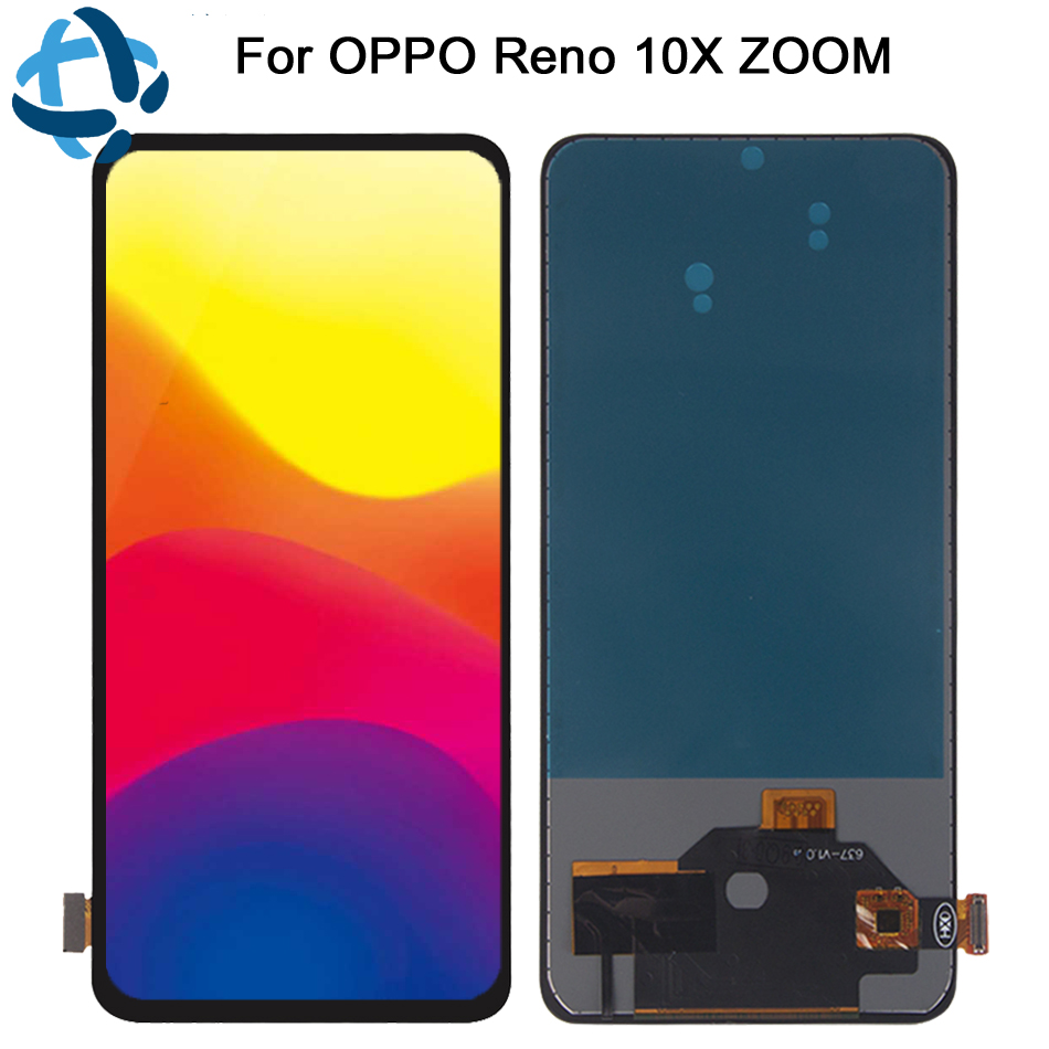 100% test For OPPO Reno 10x Zoom LCD Display Screen Touch Panel Digitizer For Oppo Reno 10x zoom LCD Assembly Replacement