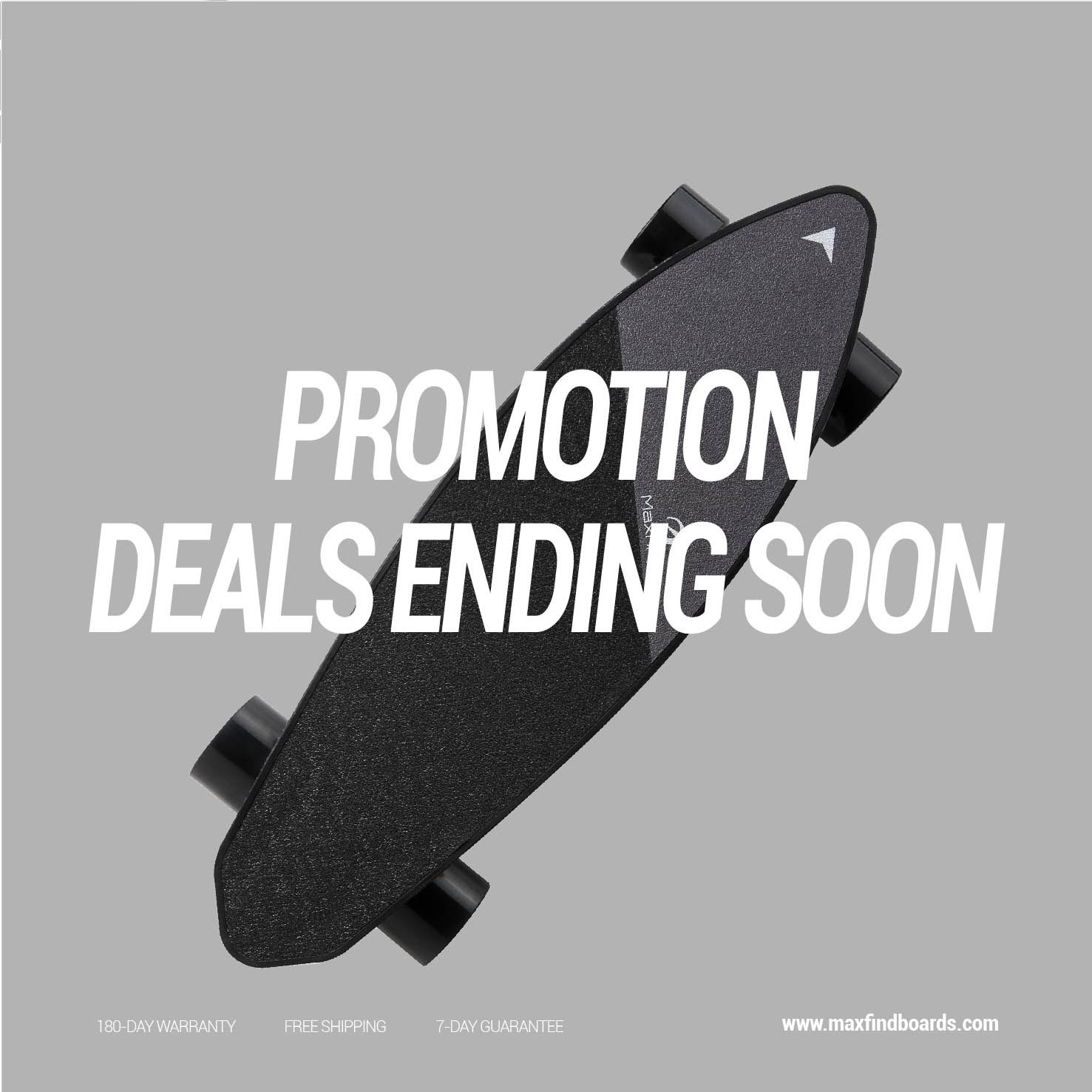 """Image 2 - Maxfind Limited Edition Electric Skateboard Max 2 Dark Longboard 31"""" 23 MPH Top Speed 16 Miles Max Range Dual Motor-in Skate Board from Sports & Entertainment"""