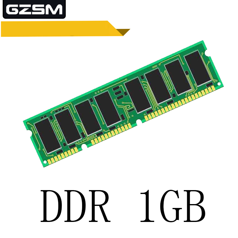 GZSM Desktop Memory <font><b>DDR</b></font> <font><b>1GB</b></font> for <font><b>PC2100</b></font> PC2700 PC3200 <font><b>266MHZ</b></font> 333MHZ 400MHZ Memory Cards 240pin 1.5V Memory RAM image