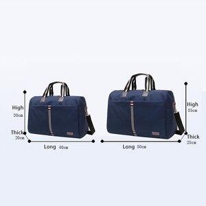 Image 5 - 2020 wodoodporna męska torba podróżna składane torby na ramię kobiety moda bagaż podróżny torba podróżna o dużej pojemności