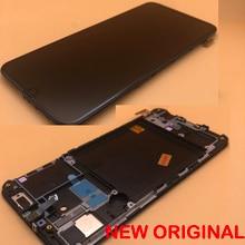 Pantalla LCD ORIGINAL de 5,9 pulgadas con marco para SAMSUNG Galaxy A40 A405, montaje de digitalizador con pantalla táctil A40 2019 A405F LCD