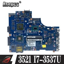 Para dell inspiron 3521 5521 V2521 LA-9101P CN-00P55V 00P55V 0P55V Laptop Placa base con cpu de I7-3537U y HD8730M 2GB gpu trabajo(China)
