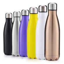 цена на Bullet sports cup mug 350ML to 1000ML multi-style large capacity Coke bottle stainless steel insulation pot
