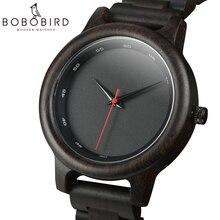 Relogio Masculino BOBO VOGEL Holz Uhr Männer Top Luxus Marke Herren Quarz Uhren für Mann Geschenke erkek kol saati OEM drop Verschiffen