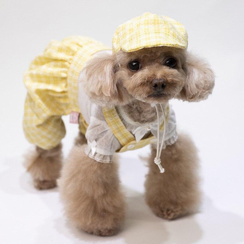 puppy jumpsuit set summer clothes dogs (13)