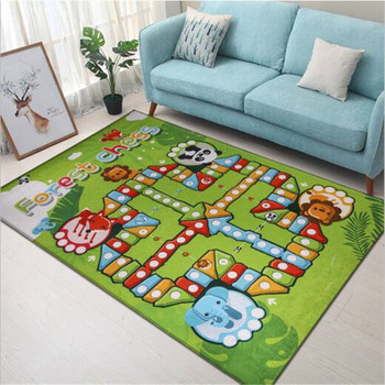 Kids Rug Children's Rug Baby Play Mat Baby Gym Rugs For Living Room Carpet In The Nursery Dropshipping Center Educational Toys
