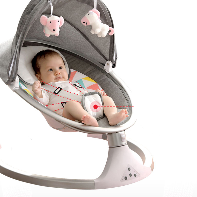 Baby Rocking Chair Neonatal Rocking Bed Baby Electric Cradle To Coax Baby Artifact With Baby Sleeping Comfort Chair