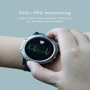 Image 5 - P8 ساعة ذكية PPG ECG كامل اللمس HD شاشة Smartwatch مع كاميرا جهاز تعقب للياقة البدنية متعددة الرياضة سوار ذكي IP68 مقاوم للماء