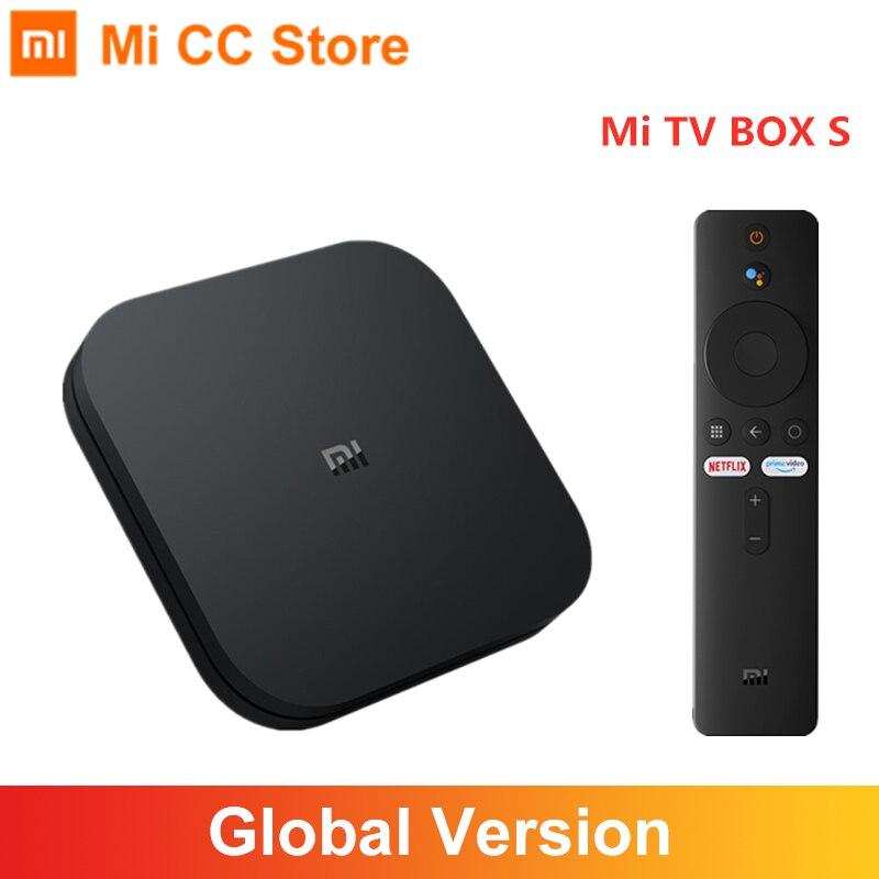 Global Version Xiaomi Mi TV Box S Android TV 9 0 4K Ultra HD 2GB 8GB WiFi IPTV Set Google Assistant Smart MiBox 4 Media Player