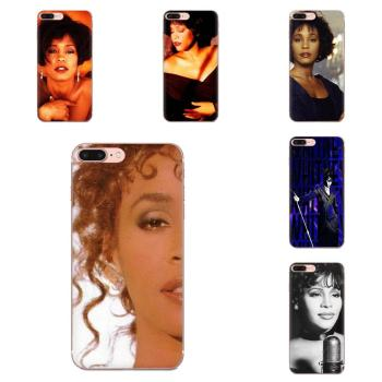 Singer Whitney Houston Soft Pattern Pink For LG G2 G3 G4 G5 G6 G7 K4 K7 K8 K10 K12 K40 Mini Plus Stylus ThinQ 2016 2017 2018 image