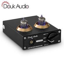 Douk audio Mini HiFi MM Phono Stage Giradischi Preamplificatore Stereo Audio Tubo A Vuoto Preamplificatore
