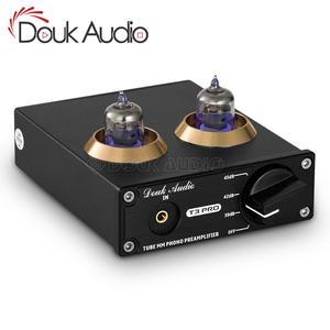 Image 1 - Douk audio Mini HiFi MM Phono Stage Giradischi Preamplificatore Stereo Audio Tubo A Vuoto Preamplificatore