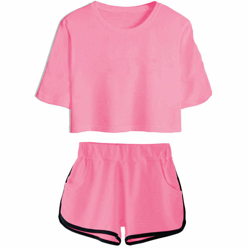 ZOGAA 2019 letnie kobiety mody stałe dorywczo luźne Tees topy kamizelka kobiet budowy ciała O Neck sportowe z krótkim rękawem T Shirt 7 kolor